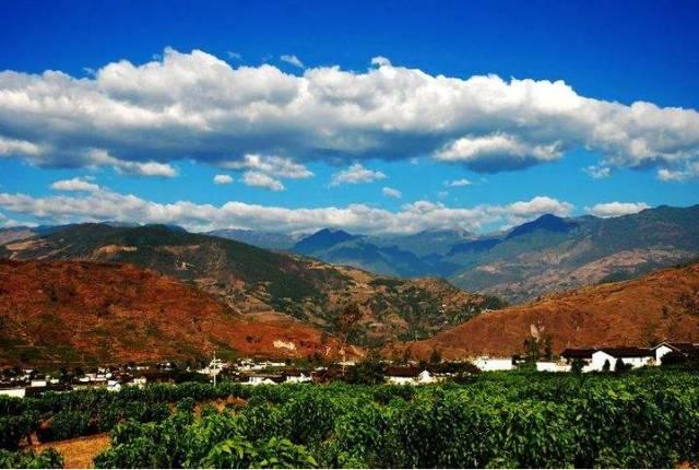 四川宁南的风景